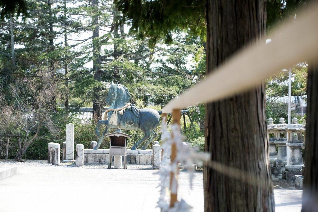 勝田神社お宮参り